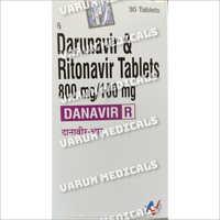 800 mg Darunavir and Ritonavir Tablets