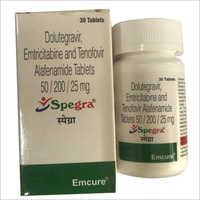 Dolutegravir Emtricitabine And Tenofovir Alafenamide Tablets