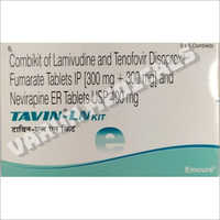 Combikit Of Lamivudine and Tenofovir Disoproxil Fumarate Tablets
