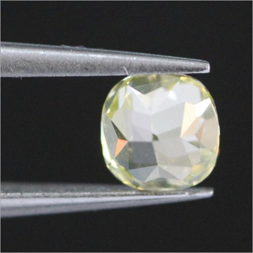 Natural Fancy Greenish Yellow Diamond