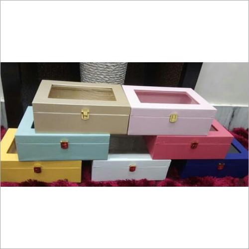 Leather window box