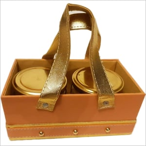 Leatherette baskets
