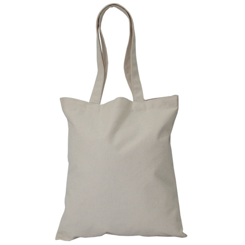12 Oz Natural Canvas Tote Bag For Grocery