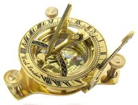 Nautical Vintage 3 inch Sundial compass