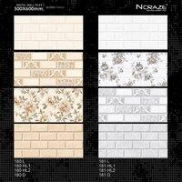 Ceramic Wall Tiles 300 X 600 mm