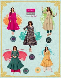 Ethnicity  Vol 5 Rayon With Fancy Embroidery  Work & Classy Prints