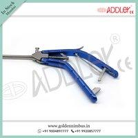 Brand New ADDLER Laparoscopic 5mm Straight Needle Holder Storz Type Handle