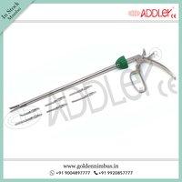 Brand New ADDLER Laparoscopic 10mm Bulldog Clip Applicator with 6 Attachments