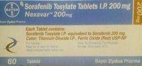 Sorafenib Tosylate Tablets I.P.200 Mg