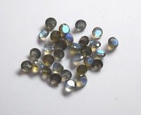 3mm Labradorite Faceted Round Loose Gemstones