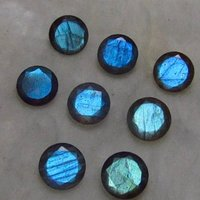 4mm Labradorite Faceted Round Loose Gemstones