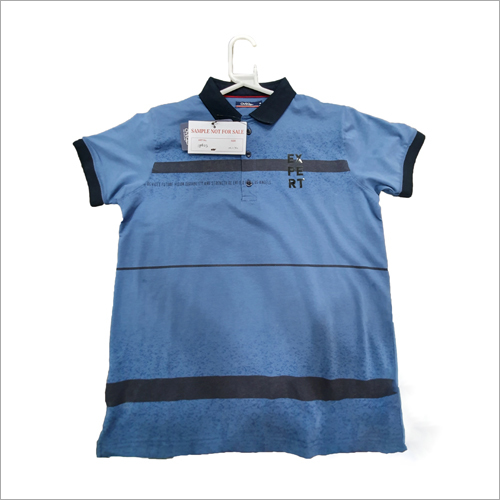 Mens Fancy Collar T-Shirts