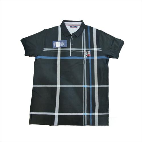 Mens Collar Check T-Shirts