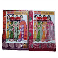 Ladies Handloom Kolkata Batik Saree