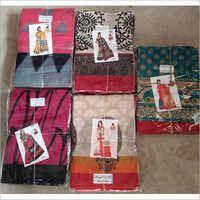 Ladies Bhagalpuri Silk Saree