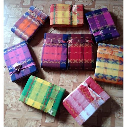 Ladies Pure Cotton Tant Saree