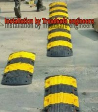 Abs Plastic Speed Breakers Installation