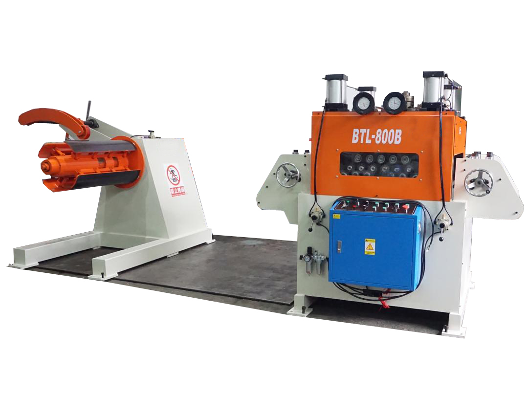 Automatic Straightener And Uncoiler