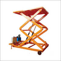 Electric Lift Table with Wheel