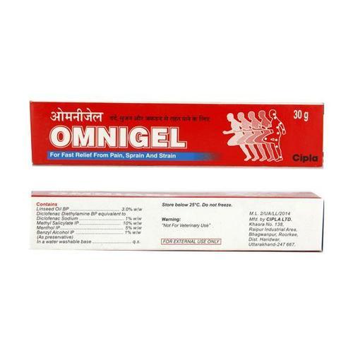 Diclofenac Linseed Oil Menthol Gel