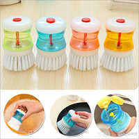 Small Sink Brush With Soap Dispenser