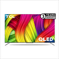 TCL 122.8 cms (55 Inch) Ultra HD (4K) Android Smart QLED TV 55C715