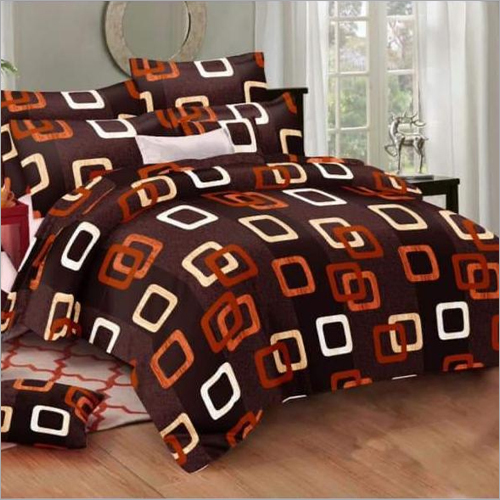 3D Double Bed Bed Sheet