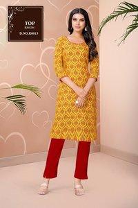 Dhyani Vol 3 Designer Daily Wear Rayon Printed Kurtis