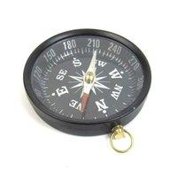 Antique Aluminium Pocket Compass
