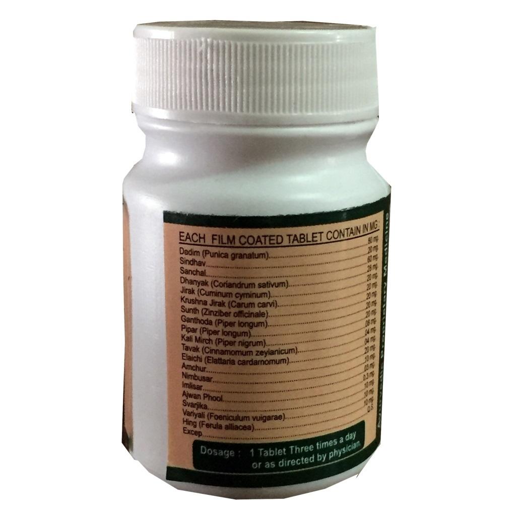 Herbal Ayurvedic Ayursun Tablet For Digestive - Dicar Tablet