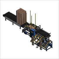 SF9023 Manual Wood Pallet Nailing Line