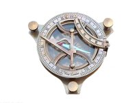 4.5 inch Antique Sundial Compass