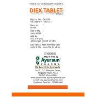 Ayurvedic Medicine For Dysentery-Diex Tablet