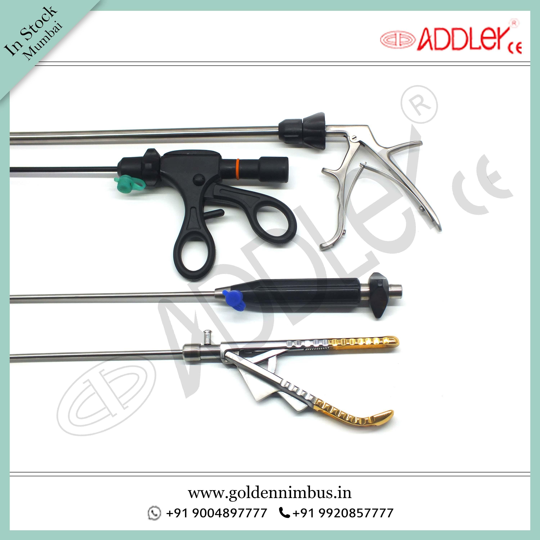 Brand New ADDLER Laparoscopic And Endoscopic Surgical Set