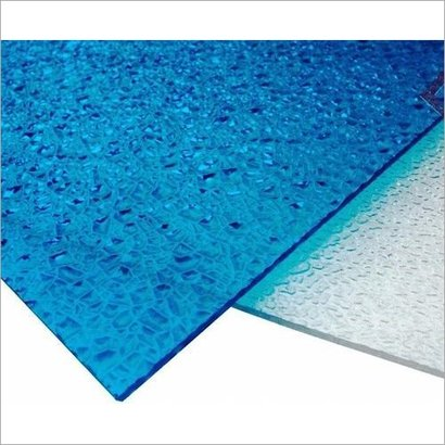 Plain & Embroded Embossed Polycarbonate Sheets