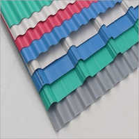 Color Coated Polycarbonate Corrugated Sheet