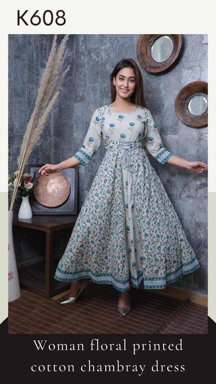 Women Printed Dresses PR-109