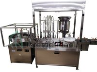 Sterile Powder Filling with Stoppering Machine