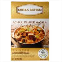 Mirza Sahab Achari Paneer Masala