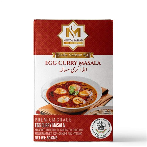 Egg Curry Spices