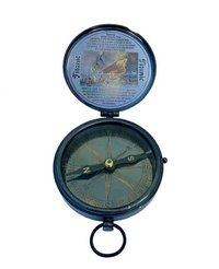 Black Antique Ship Compass Collectible Nautical 1912 Sinking of The Titanic Engraved Compass