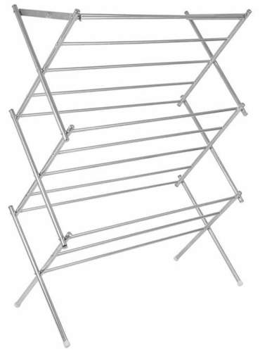 Zig Zag SS Cloth Drying Stand