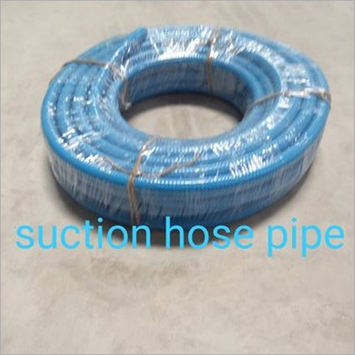 Blue PVC Suction Hose Pipe