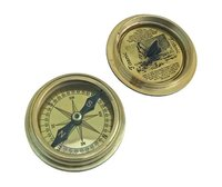 1912 Titanic Compass 3 Pocket Nautical Brass Compass with Lid