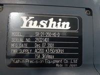 YUSHIN HIGH SPEED SIDE ENTRY ROBOTS SX-21-250-HS-D