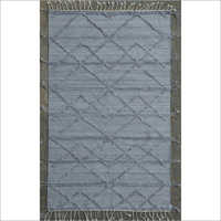 Hand Woven Polyester Loop Pile Kilim