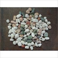 Unpolished tumbled Mix Agate Aquarium Gravels at cheap price