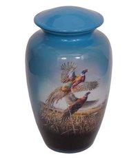 Pheasant Theme Cremation Urn