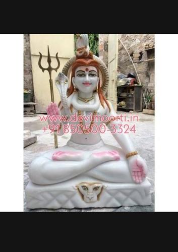 Marble God Shiva Moorti
