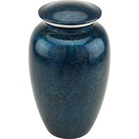 Starry Night Blue Cremation Urn